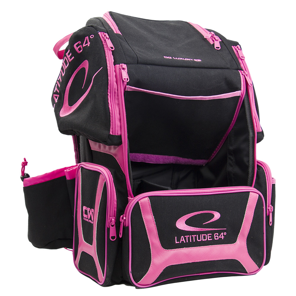 Luxury Backpack E3 Black & Pink